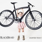 BlackBraid Bike : Super Light Bicycle That Features Braided Carbon Frame