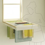Blindry : You Can Transform This Window Blind Into a Laundry Rack