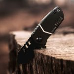 BLITZ Mini Tanto Tactical Pocket Knife - Chubby Yet Stronger Knife