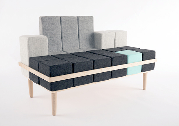 Bloc'd Sofa by Scott Jones