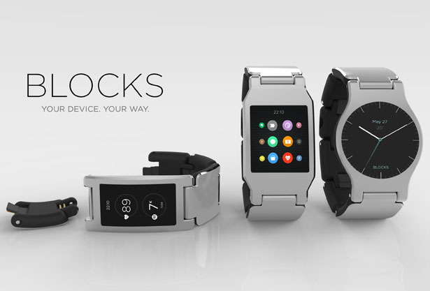 Blocks Modular Smartwatches Can Be Customized According to Your Needs