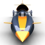Bloodhound SSC Faster than Magnum Bullet