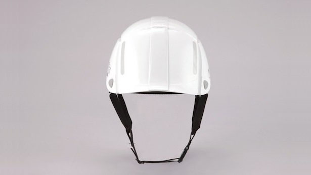 Stylish Bloom Collapsible Safety Helmet Protects Your Head in A Single Movement