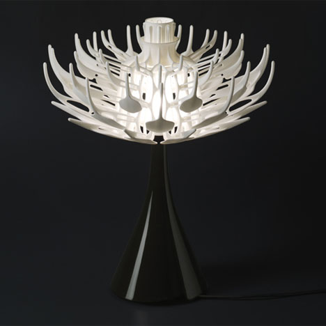Bloom Flower Lamp Table