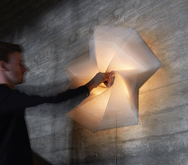 Bloom Wall Light by George Barratt-Jones