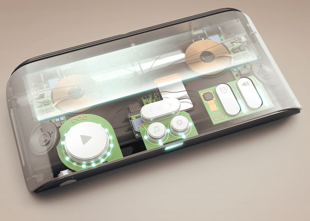 Blu Musical Keyboard by Eric Pautz