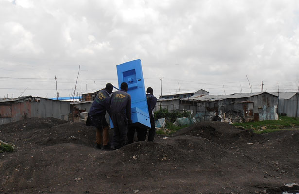Blue Diversion Toilet for third world country by EOOS and Eawag
