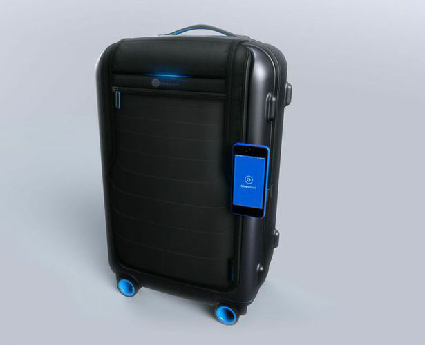 Bluesmart : Wold's Smart Carry-On Suitcase