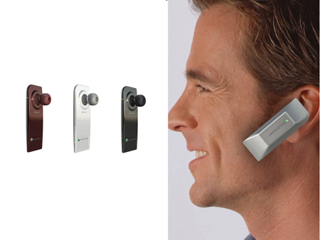 bluetooth earphone allows users to talk and roam with style
