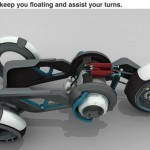 BMW 1150GEth Tesla Motion Electric Bike by Djordje Kovacevic