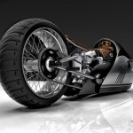 Alpha Motorcycle Concept Design Study for BMW