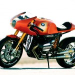 BMW Concept Ninety Motorcycle as Tribute to BMW Motorrad Which Turns 40 This Year
