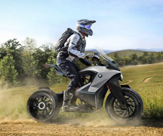 Futuristic BMW D-05T Adventure Touring Motorcycle for Ultimate Freedom