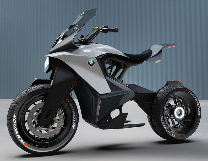 BMW D-05T Concept Motorcycle by Neeraj Jawale