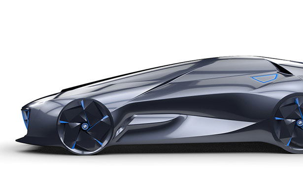 BMW Shooting Break Concept Car for The Year of 2025 by EB Fang