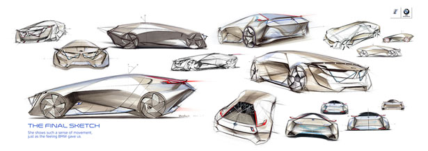 BBMW Shooting Break Concept Car for The Year of 2025 by EB Fang