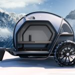 BMW Designworks Collaborates with The North Face to Develop New Camper Concept - FUTURELIGHT Camper