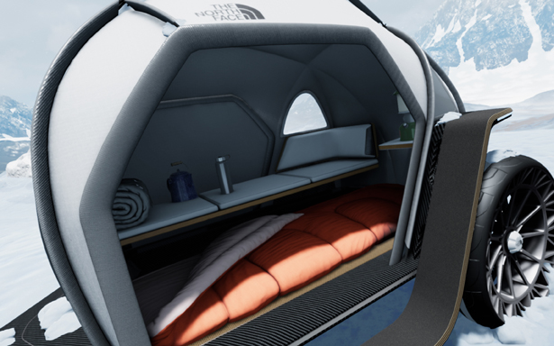 BMW Designworks Collaborates with The North Face to Develop New Camper Concept