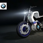 BMW E100r : A Vision of Future BMW Electric Motorcycle