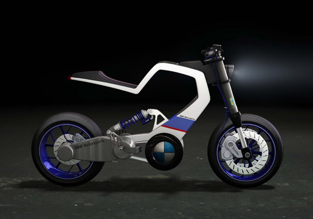 Bmw E100r A Vision Of Future Bmw Electric Motorcycle Tuvie