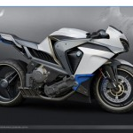BMW Ghost Sports Bike Design Inspiration Came From A Snowy Owl
