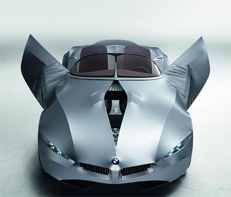 BMW Gina Light Concept Car with Stretchable Skin
