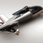 Environmentaly Friendly BMW Hydrogen Salt Flat Racer Concept