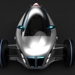 BMW i1 Concept Single-Seater Vehicle by Amadou Ndiaye
