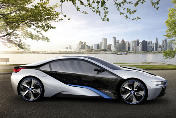 bmw i8 concept combines high performance of a sports car. Black Bedroom Furniture Sets. Home Design Ideas