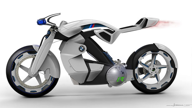BMW iR Concept Motorcycle by Jordan Cornille