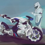 BMW iR Concept Motorcycle for Future MotoGP racing