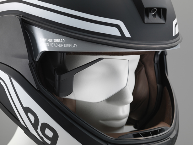 BMW Motorrad Concept Helmet with Head-up Display