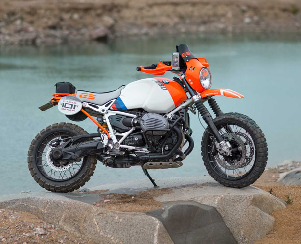 BMW Motorrad Lac Rose Rally Motorbike Concept