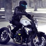 BMW Motorrad Concept Roadster Features Powerful 2-Cylinder Boxer Engine