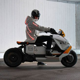 BMW Motorrad Definition CE 04 Electric Scooter – Stylish, Functional, and Safe