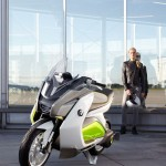 BMW Motorrad Concept E : BMW Electric Scooter for Future Urban Mobility