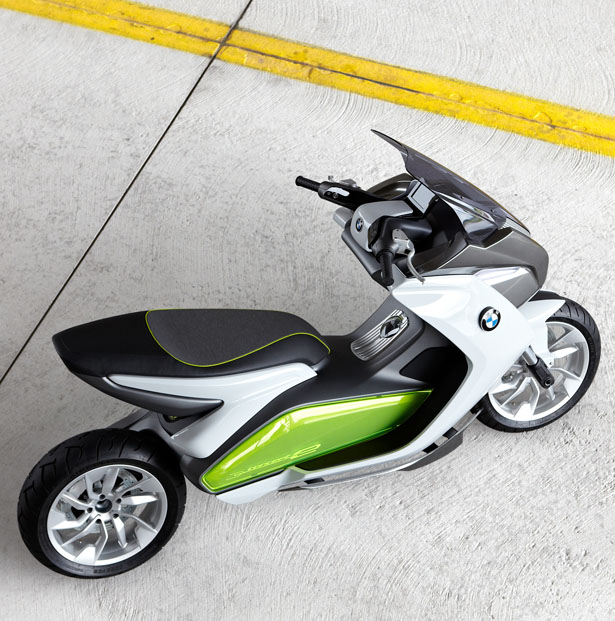 BMW Motorrad Concept E - BMW Electric Scooter