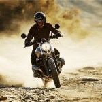 BMW R nineT Scrambler Motorcycle Features 1200cc Boxer Engine and Dual Silencer