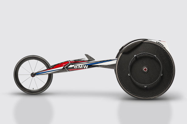 BMW Team USA Racing Wheelchair Design for Rio 2016 Paralympic Games