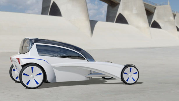 BMW Venture concept car by Chris Hammersley