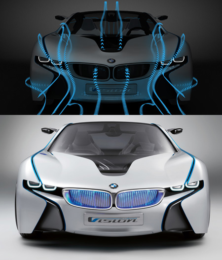 BMW Vision Efficient Dynamics with Sleek and Smooth Design