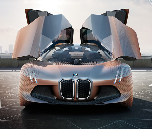 BMW Vision Next 100 Concept – Futuristic Car Concept Aims to Become Your Ultimate Driving Companion