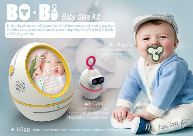 Bo-Bi Baby Care Kit by Jeff Huang