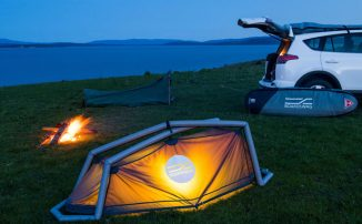 Boardswag – Surfboard Bag Doubles as A Tent