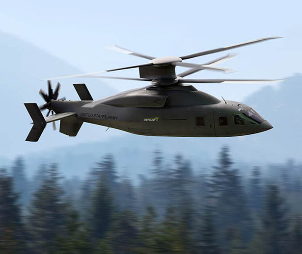 Boeing Defiant X - Future Long Range Assault Helicopter