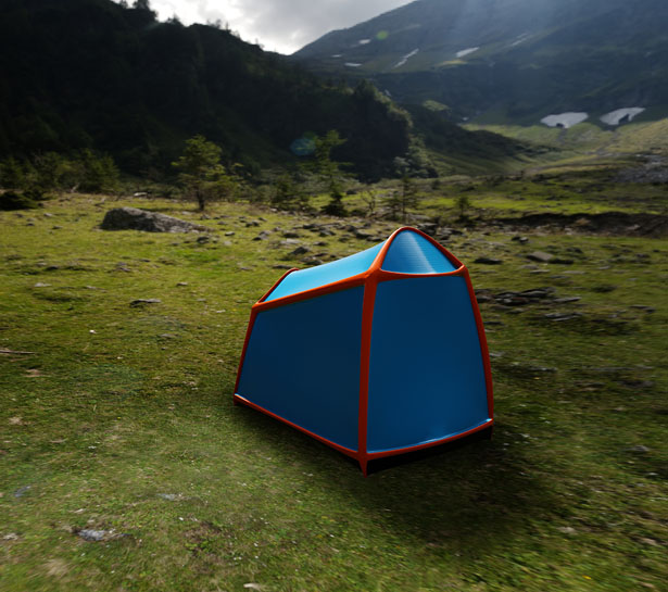 Bolt Tent - Mobile Lightning Protective Shelter by Kama Jania