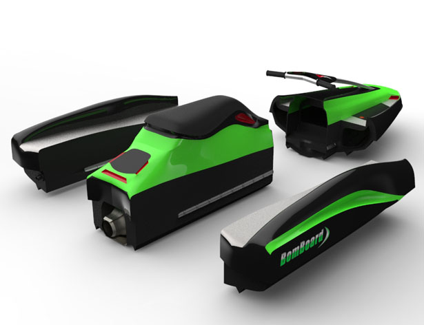 BomBoard Portable Action Watercraft