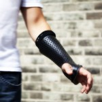 Bones Orthopedic Cast with Sensors Records Muscle Activities Around Fractured Areas