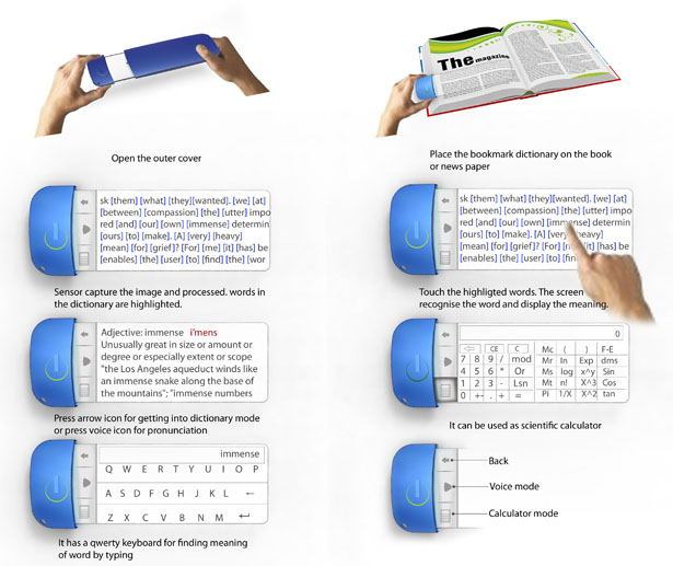 Bookmark Dictionary