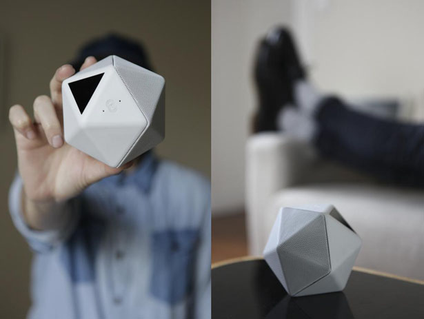 BOOM BOOM Wireless Portable Speaker by Mathieu Lehanneur